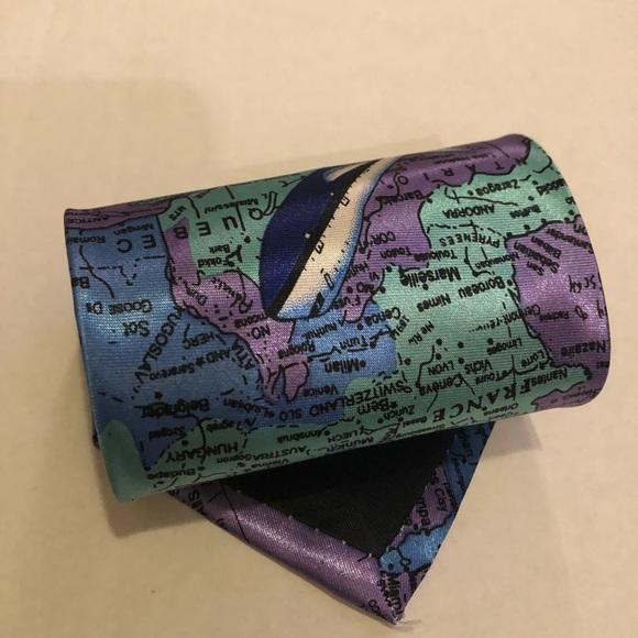 World Map Tie.Accessories World Map Tie Poshmark